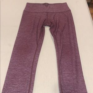 Like New Lululemon 7/8 Wunder Under Leggings